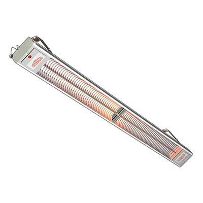1000 Watt Heizstrahler Maß: 125 x 4,4 x 9,4 cm